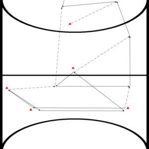 Zaalhockey oefeningen reeksenbundel
