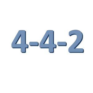 4-4-2